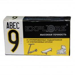 Подшипник ABEC 9 + Alum Spaser