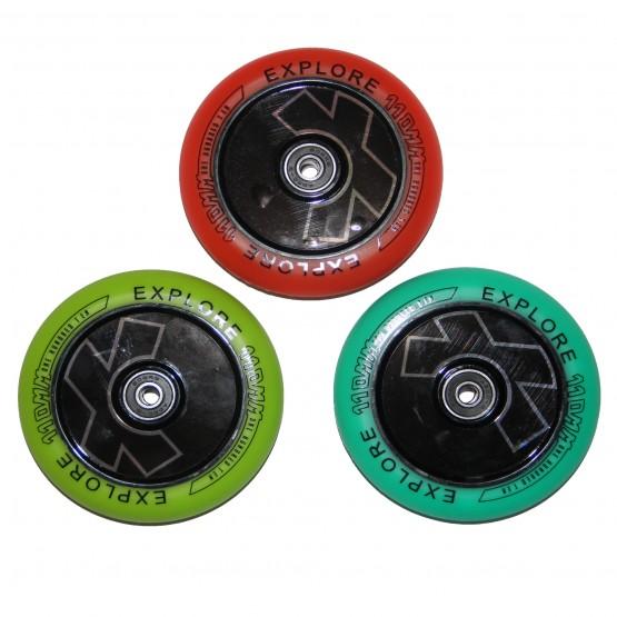Колеса для  трюковых самокатов SCOOTER WHEEL FLAT 110 COLOR