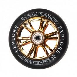 Колеса для  трюковых самокатов SCOOTER WHEEL 110 РР GOLD