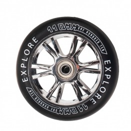 Колеса для  трюковых самокатов SCOOTER WHEEL 110 РР SILVER